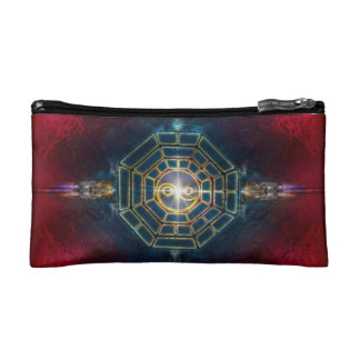 V078 BaGua Dragons Makeup Bags