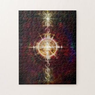 V079 Light in Shadow 18 Jigsaw Puzzle