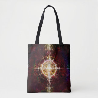 V079 Light in Shadow 18 Tote Bag