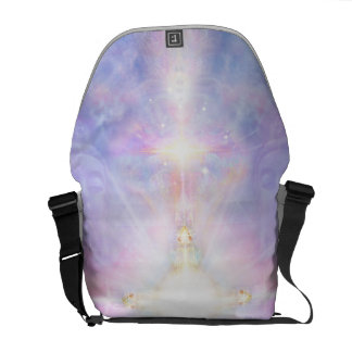 V081 Portal to White Light Courier Bags