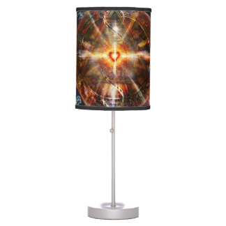 V083 Light in Shadow 38 Table Lamp
