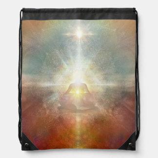 V084 Light in Shadow 21 Drawstring Bag