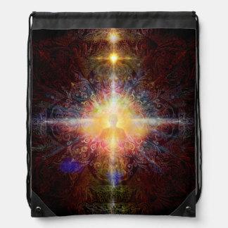 V086 Gallery of Light 10 Drawstring Bag