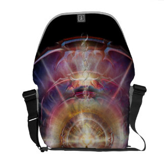 V087 Armored Heart Salutation Courier Bags