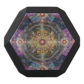 V090 Heart Mandala Black Bluetooth Speaker