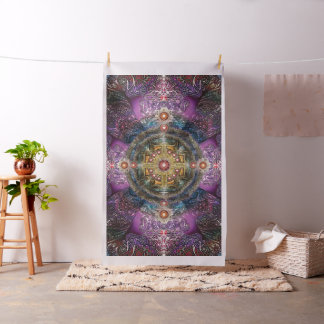 V090 Heart Mandala Fabric