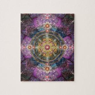 V090 Heart Mandala Jigsaw Puzzle