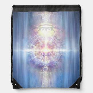 V091 Light in Shadow 21 Drawstring Bag