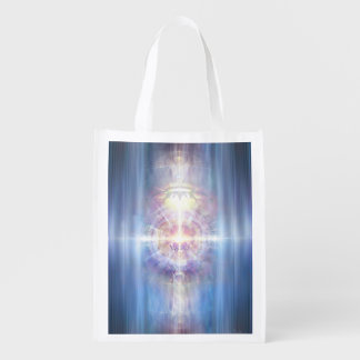 V091 Light in Shadow 21 Reusable Grocery Bag