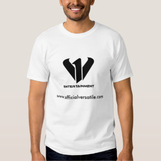 v1entertainment white T-shirt