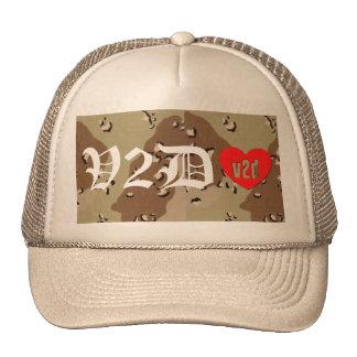 V2DHEART CUSTOM DESERT CAMO OLD ENGLISH HAT