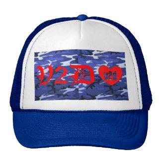 V2DHEART CUSTOM WATER CAMO OLD ENGLISH HAT