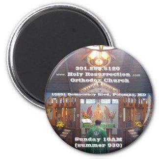 V5.3_IMG_7602, Holy Resurrection O... - Customized 2 Inch Round Magnet