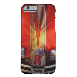 V8 Chrome Emblem on Hotrod Barely There iPhone 6 Case