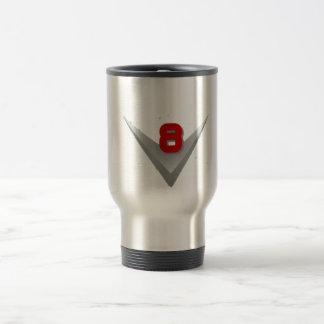 V8 logo travel mug