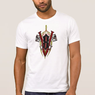 V8 Piston Distressed T-Shirt