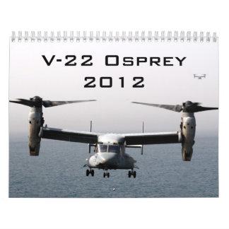 V-22 Osprey 2012 Wall Calendars