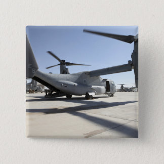V-22 Osprey tiltrotor aircraft 2 2 Inch Square Button