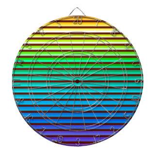 v background rainbow dartboard