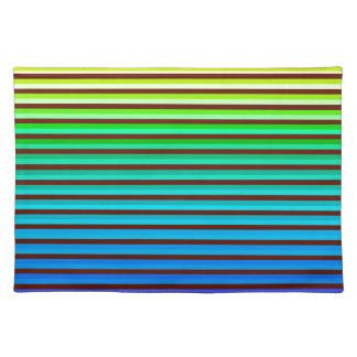v background rainbow placemat