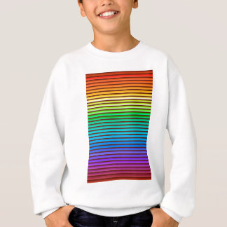 v background rainbow sweatshirt