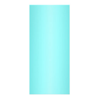 V Bi-Linear Gradient - Turquoise and Light Cyan Full Color Rack Card
