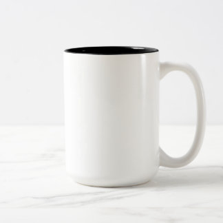 V Day Black 15 oz Two-Tone Mug