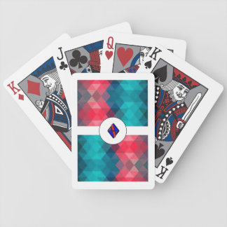 V Diamond Playing Cards