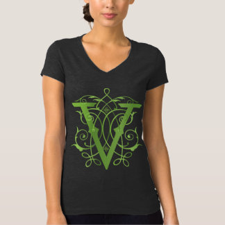 V for Vegan shirt