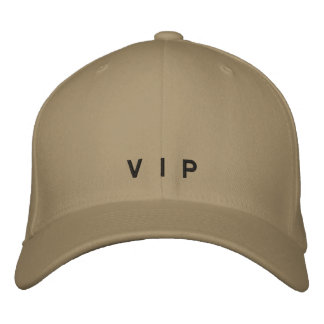 V I P EMBROIDERED HAT