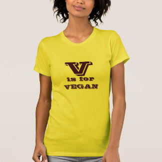 V is for VEGAN T-Shirt