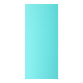 V Linear Gradient - Light Cyan to Turquoise Custom Rack Cards
