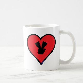V twin mug