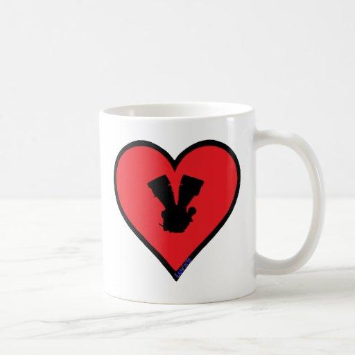 V twin coffee mug