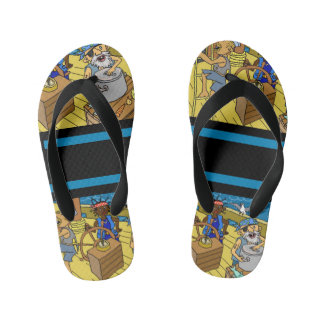 Va-cA flip flops for him by DAL