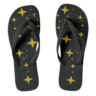 Va-cA night stars flip flops by DAL