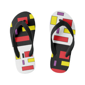 Va-cA square flip flops by DAL