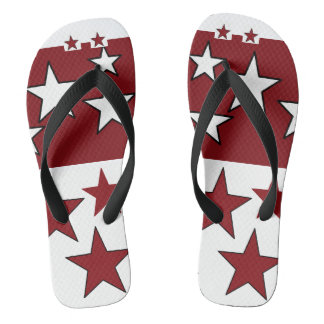 va-ca star flip flops for him by DAL