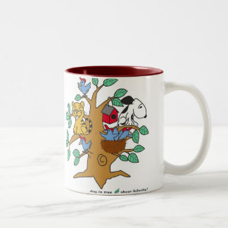 VA- Cat and Dog Cartoon Mug
