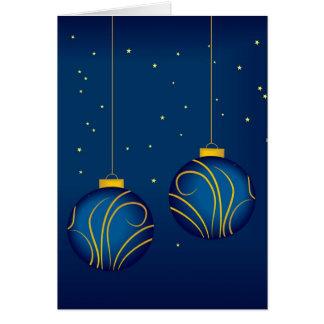 Vacances heureuses carte de vœux