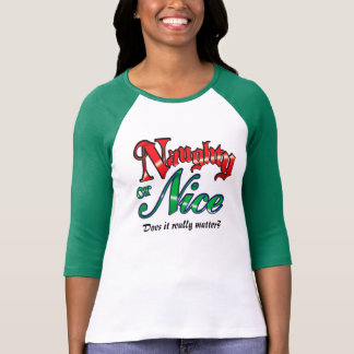 Vacances vilaines ou agréables mignonnes t-shirts
