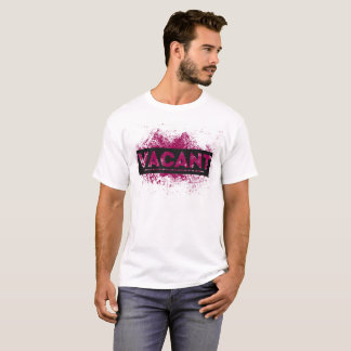 Vacant Red/Pink Splatter T-Shirt