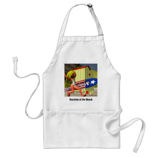 Vacation at the Beach Apron