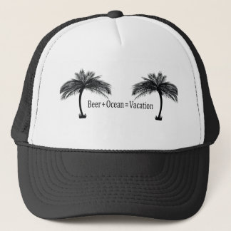 vacation at the beach trucker hat