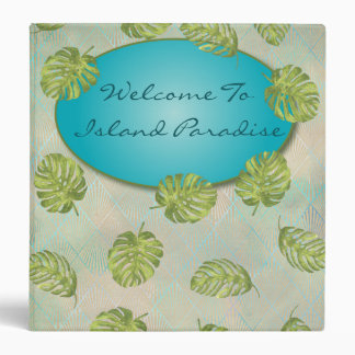Vacation Beach Cottage Rental Welcome Book Binders