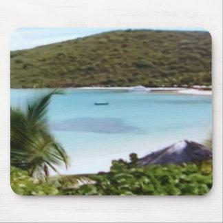 Vacation getaway mouse pad
