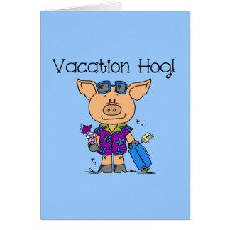 Vacation Hog Card
