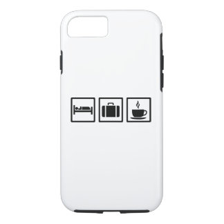 Vacation hotel luggage iPhone 8/7 case