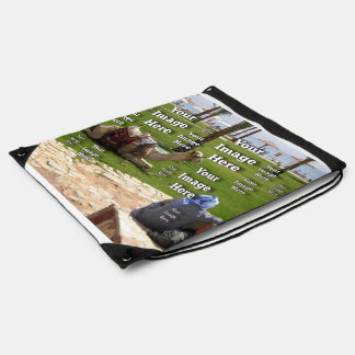 Vacation Image Template Backpack
