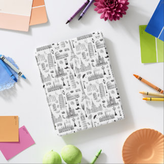 Vacation In Europe Pattern iPad Smart Cover